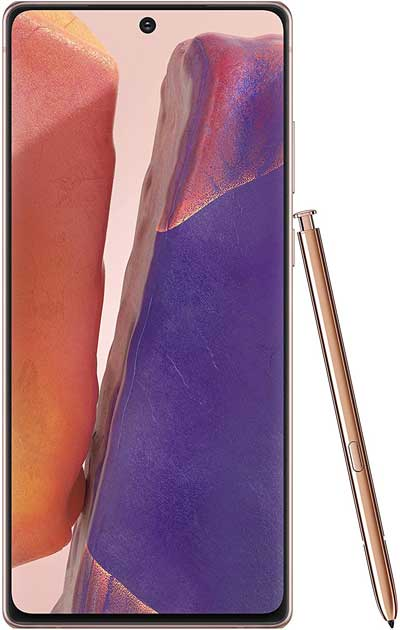 Samsung Galaxy Note 20 Ultra 5G front